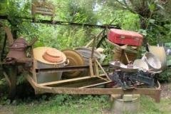 Verzameling oud gereedschap e.d.